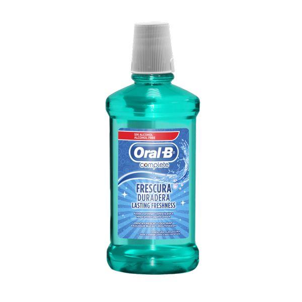 Oral-B Complete Στοματικό Διάλυμα Δροσερή Μέντα 500ml
