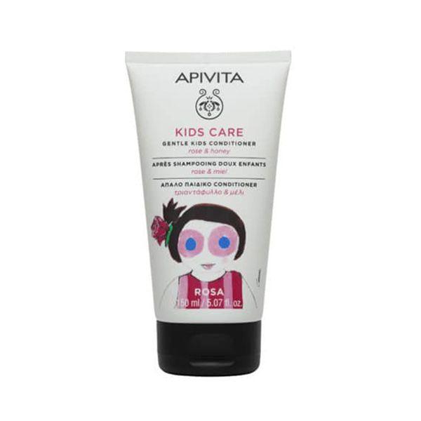 Apivita Kids Μαλακτικό Μαλλιών Με Τριαντάφυλλο & Μέλι 150ml