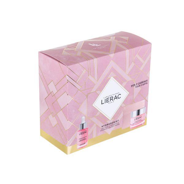 Lierac Hydragenist Set Δώρου Με Ενυδατικό Ορό Οξυγόνωσης & Επαναπύκνωσης Προσώπου 30ml & Δώρο Ενυδατική Κρέμα Οξυγόνωσης & Επαναπύκνωσης Για Ξηρό/Πολύ Ξηρό Δέρμα 50ml & Θήκη Για Κάρτες