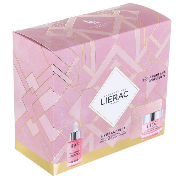 Lierac Hydragenist Set Δώρου Με Ενυδατικό Ορό Οξυγόνωσης & Επαναπύκνωσης Προσώπου 30ml & Δώρο Τζελ-Κρέμα Προσώπου Ενυδάτωσης & Οξυγόνωσης Για Ματ Όψη Για Μικτό Δέρμα 50ml & Θήκη Για Κάρτες