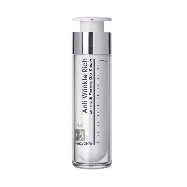 Frezyderm Anti-Wrinkle Rich Αντιρυτιδική Κρέμα Ημέρας με Συσφικτική & Ανορθωτική Δράση Για Πρόσωπο/Λαιμό 50ml