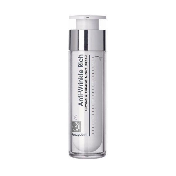 Frezyderm Anti-Wrinkle Rich Αντιρυτιδική Κρέμα Νύχτας Με Συσφικτική & Ανορθωτική Δράση Για Πρόσωπο/Λαιμό 50ml