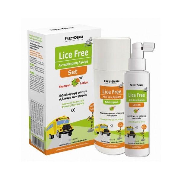 Frezyderm Set Με Παιδικά Προϊόντα Για Ψείρες