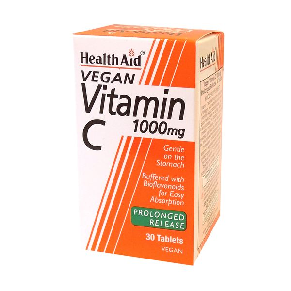 Health Aid Vitamin C 1000mg Prolonged Release 30 ταμπλέτες