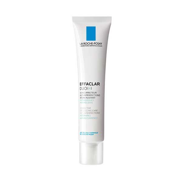 La Roche-Posay Effaclar Duo (+) Κρέμα Προσώπου Κατά Ατελειών Πόρων & Σημαδιών Για Λιπαρό Με Τάση Ακμής Δέρμα 40ml