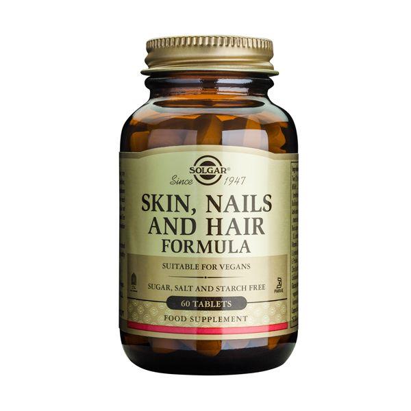 Solgar Skin, Nails & Hair Formula 60 Tabs