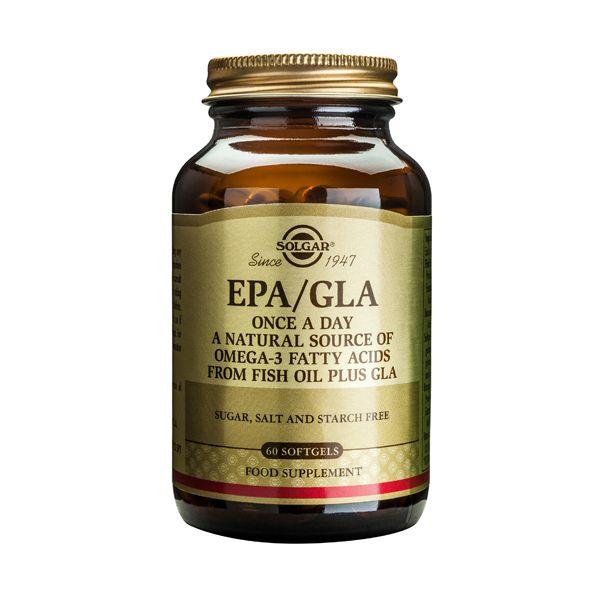 Solgar EPA/GLA Once A Day Ουσιώδη Λιπαρά Οξέα 60 Softgels