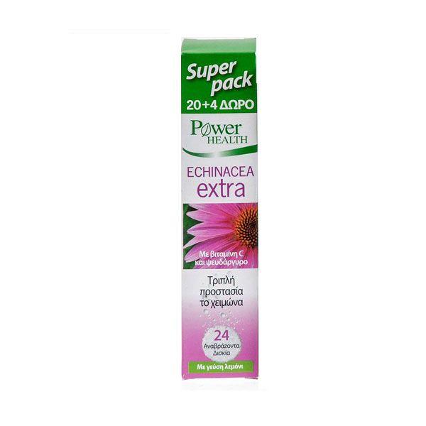 Power Health Echinacea Extra 20 & 4 αναβράζοντα δισκία