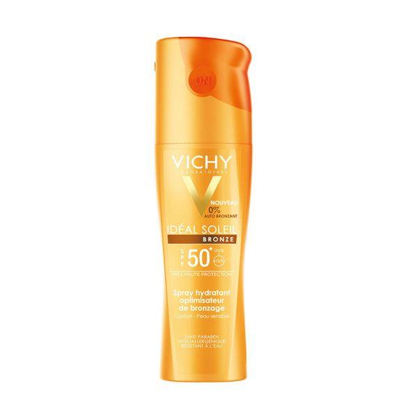 Vichy Ideal Soleil Bronze Ενυδατικό Σπρέι Βελτιστοποίησης Μαυρίσματος Για Το Σώμα Spf50+ 200ml