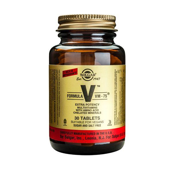 Solgar Formula VM-75 Πολυβιταμίνες 30 Tabs